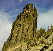 Rock Climbing Photo: West Face, Chimney Rock