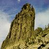 West Face, Chimney Rock