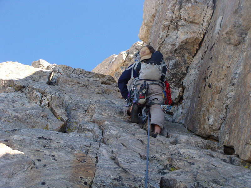 Rock Climbing Photo: exum ridge grand teton