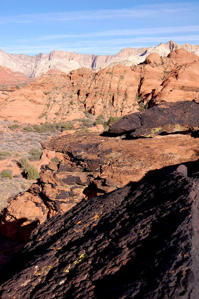 Rock in Snow Canyon