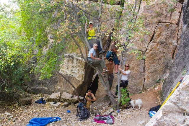 Rock Climbing Photo: Return to Ten Sleep Canyon