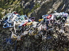 Rock Climbing Photo: The rack at Tahquitz!