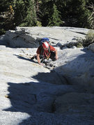 Rock Climbing Photo: I took a shot of Joe on the second or third pitch ...