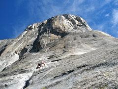 Rock Climbing Photo: Free Blasting.  Yosemite!