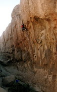 Rock Climbing Photo: Crack 6, Isles Corridor