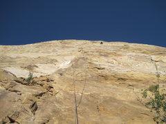 Rock Climbing Photo: Higher on the climb