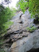 Rock Climbing Photo: Butterfly Flake