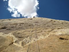 Rock Climbing Photo: Near anchors