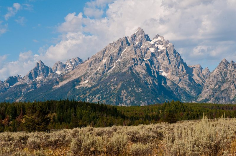 Rock Climbing Photo: Grand Teton.