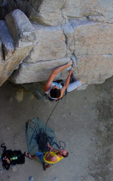 Rock Climbing Photo: extreme unction