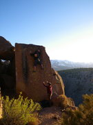 Rock Climbing Photo: Church Of Lost and Found V2
