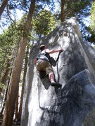 Rock Climbing Photo: Rock Creek V4
