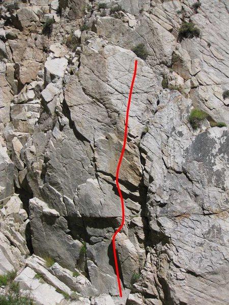 Rock Climbing Photo: Soundtrack to Failure