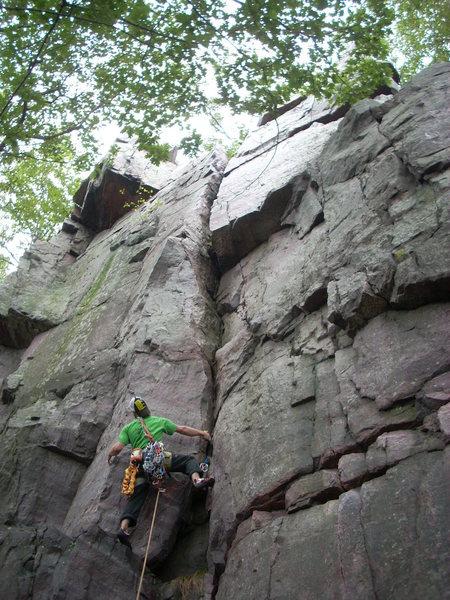 Rock Climbing Photo: Vince