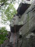 Rock Climbing Photo: Healthy run out!