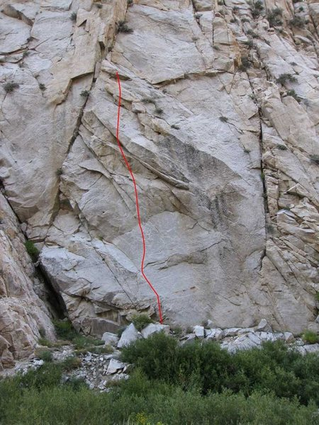 Rock Climbing Photo: Pray Like a Mantis