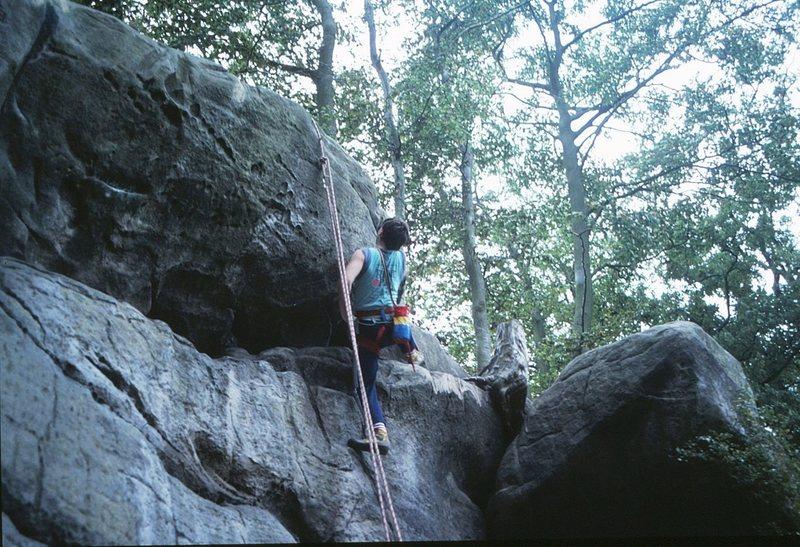 Rock Climbing Photo: Finishing Drosophilia