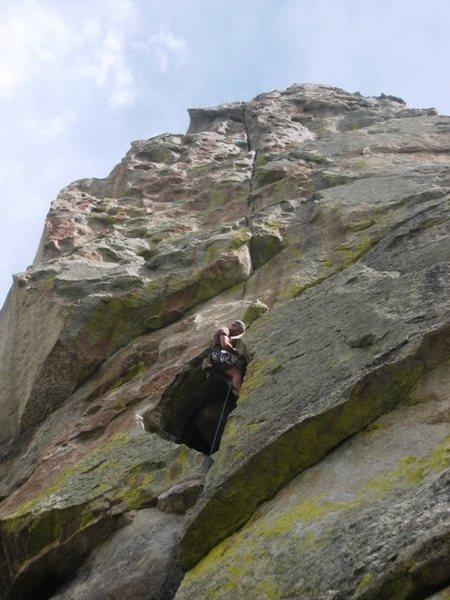 Rock Climbing Photo: Eagle Crack