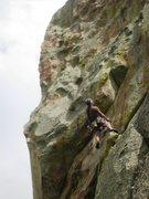 Rock Climbing Photo: Tom cruisin' the Eagle Crack