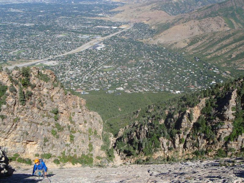 Rock Climbing Photo: Slab of the Gods