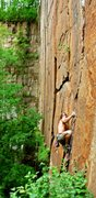 Rock Climbing Photo: Possibly the best 12a in Minnesota
