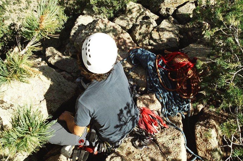 Rock Climbing Photo: Top of an Adventure Day with Matt, circa 9/2007.