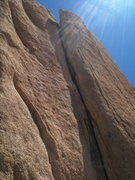 Rock Climbing Photo: the flake