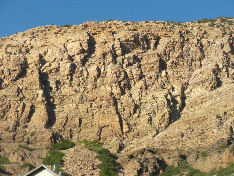 Rock Climbing Photo: Macabre Wall