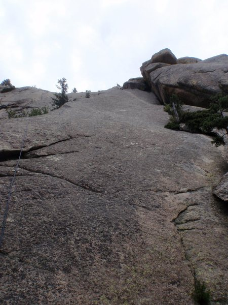 Kevin L on Bolted Arete.