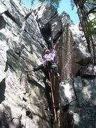 Rock Climbing Photo: Barefoot Vinny.
