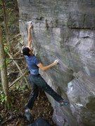 Rock Climbing Photo: RV on BS.  So good...