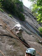 Rock Climbing Photo: Climbing at Johns Rock