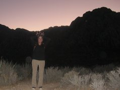 Rock Climbing Photo: Me lookin' a lil REDRUM in Red Rock at White Rock....