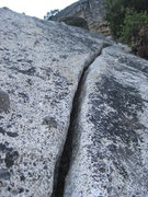 Rock Climbing Photo: Once you leave the bay tree and are established in...
