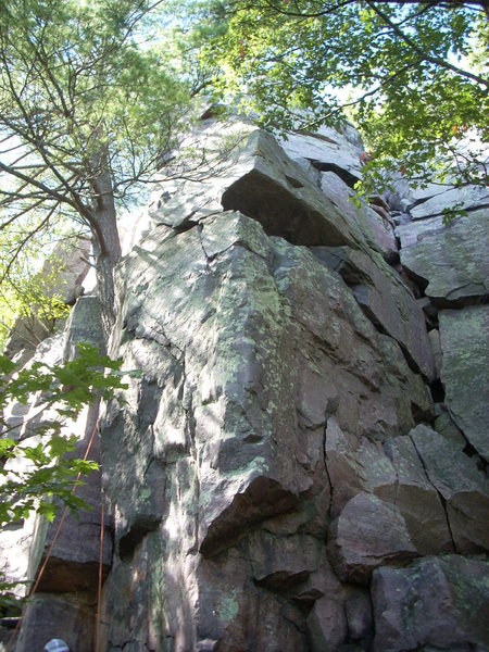 """Known as """"Reclining Tower Arete"""" 5.11d"""