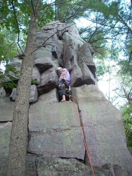 Rock Climbing Photo: Vinny.
