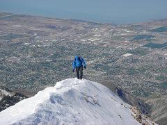 Rock Climbing Photo: Low on Everest Ridge