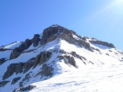 Rock Climbing Photo: Rock step on Everest Ridge
