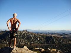 Rock Climbing Photo: Mount Woodson