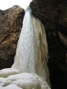 Rock Climbing Photo: El Salto, first waterfall.  Been a while since thi...