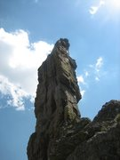 Rock Climbing Photo: Final pitch up Zowie.