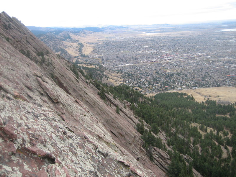 Rock Climbing Photo: Does not get any steeper than this.