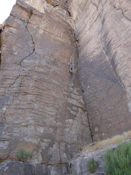 Rock Climbing Photo: Quarter and a Half