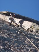 Rock Climbing Photo: The best 5.6 at Greyrock.