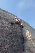 Rock Climbing Photo: Kevin L. on Rip Tide.