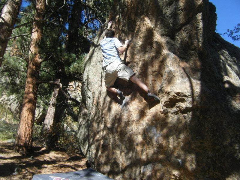 "Rock Climbing Photo: BC on ""Conspire""."