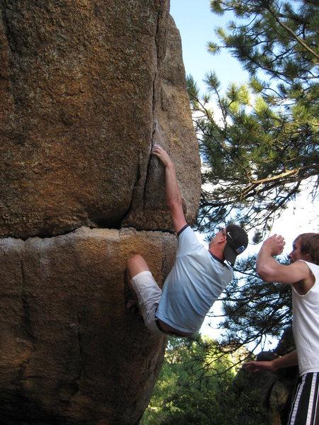 Rock Climbing Photo: Jaws, Lumpy ridge