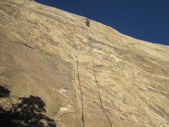 Rock Climbing Photo: Higher