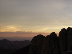 Rock Climbing Photo: Silhouette.