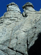 Rock Climbing Photo: Poultry Pillar from below Drumstick Direct (5.8 - ...